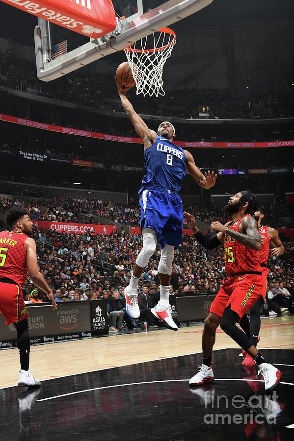 Atlanta Hawks V La Clippers Photograph by Andrew D. Bernstein