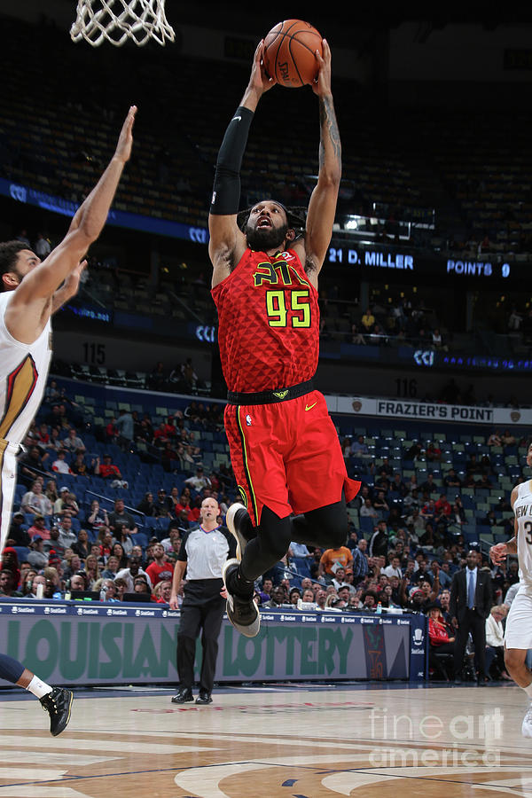 Atlanta Hawks V New Orleans Pelicans Photograph by Layne Murdoch Jr.