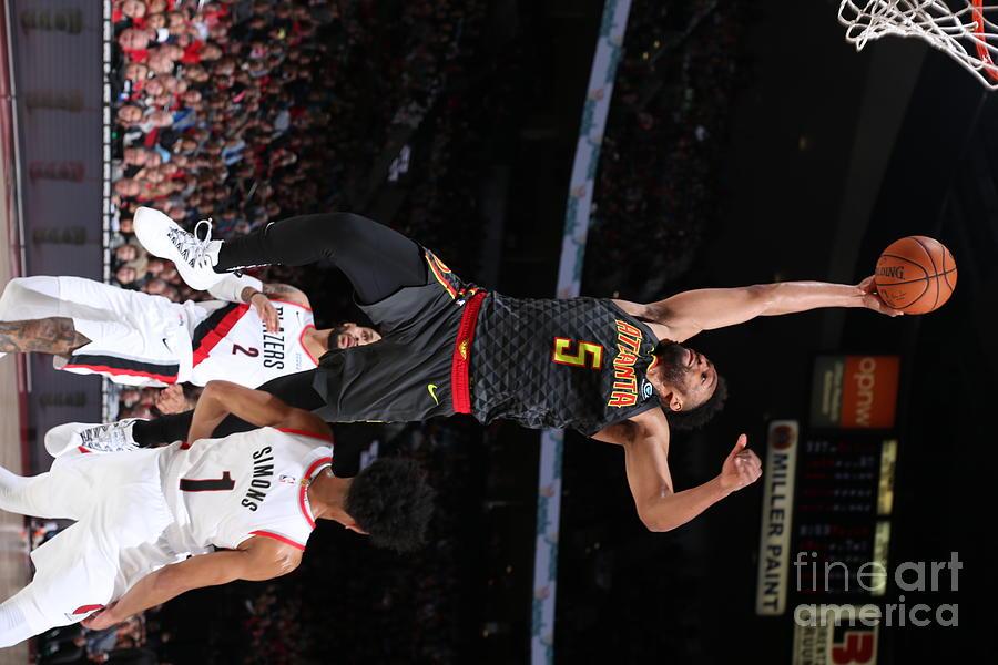 Atlanta Hawks V Portland Trail Blazers Photograph by Sam Forencich