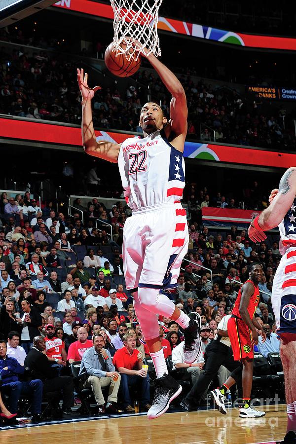 Atlanta Hawks V Washington Wizards - Photograph by Scott Cunningham