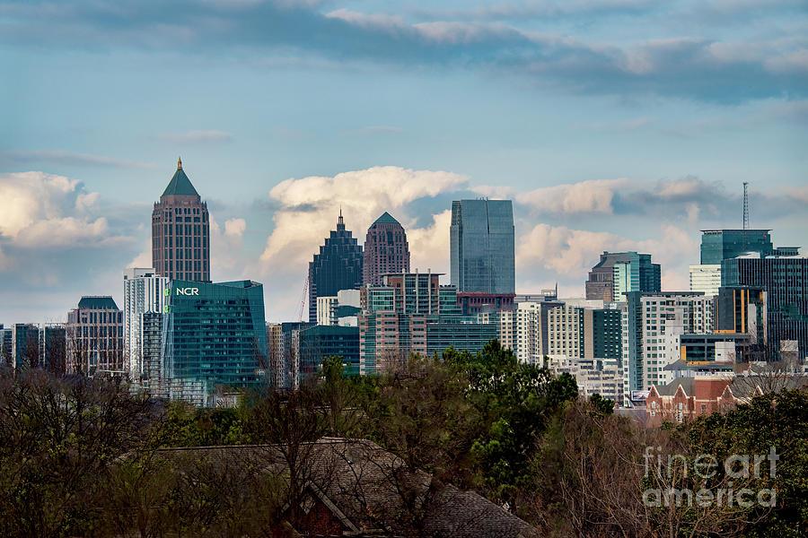 Atlanta Skyline 2 by Mae Wertz