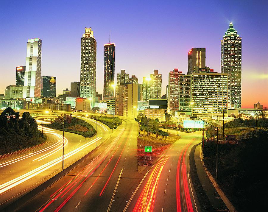 Atlanta Skyline, Georgia, Usa Photograph by Travel Ink