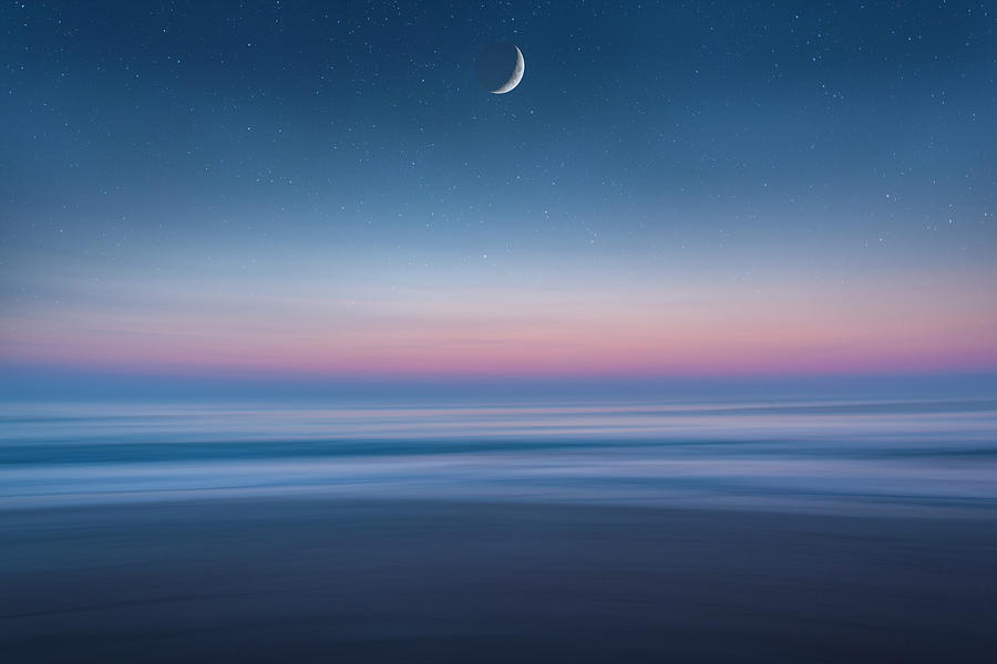 Atlantic Beach Predawn Elements by Steven Sparks