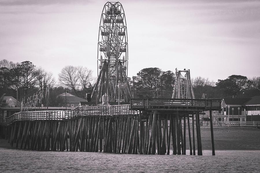 Atlantic Fun Park / Virginia Beach Fishing Pier by Pete Federico