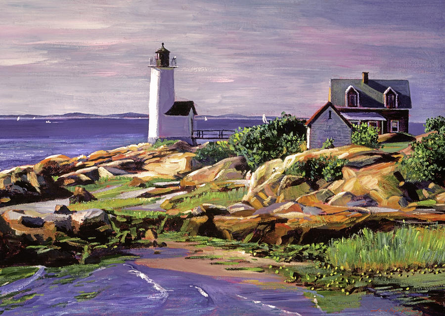 ATLANTIC LIGHTHOUSE by David Lloyd Glover