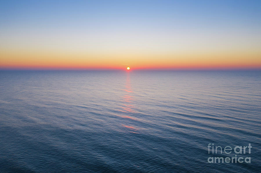 Atlantic Ocean Sunrise  by Michael Ver Sprill