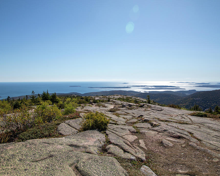 Atlantic Oceaon from Acadia Park by Rebecca Cozart