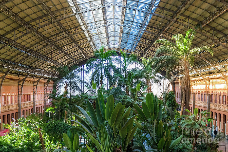 Atocha Station by Fine Art On Your Wall