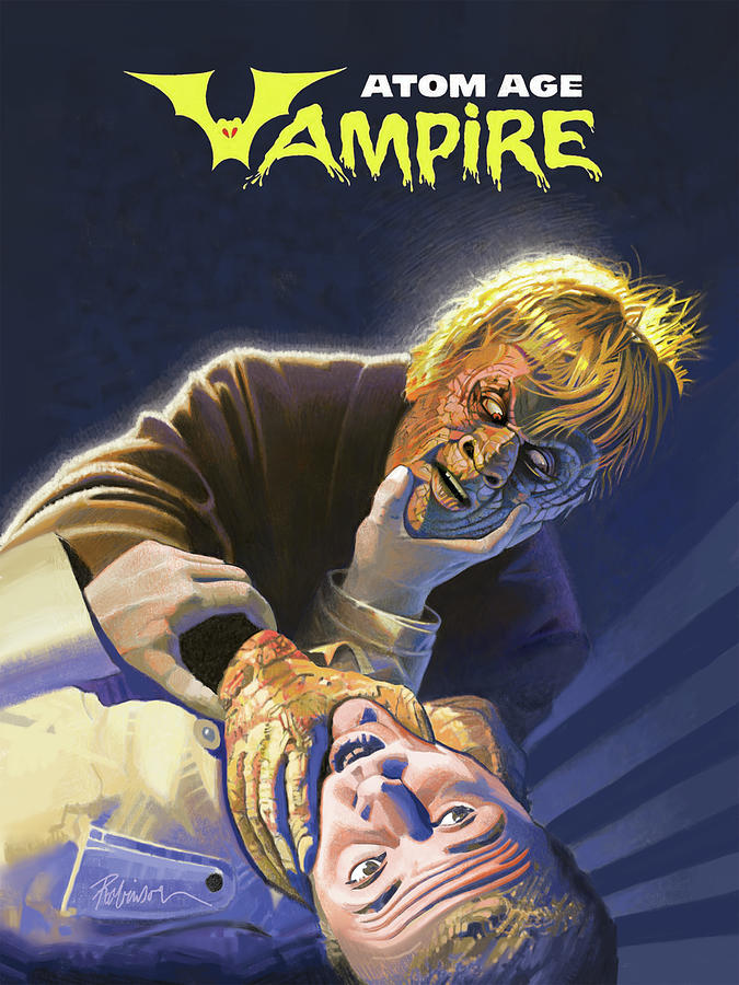 Classic Horror Photograph - Atomic Vampire by D Robinson