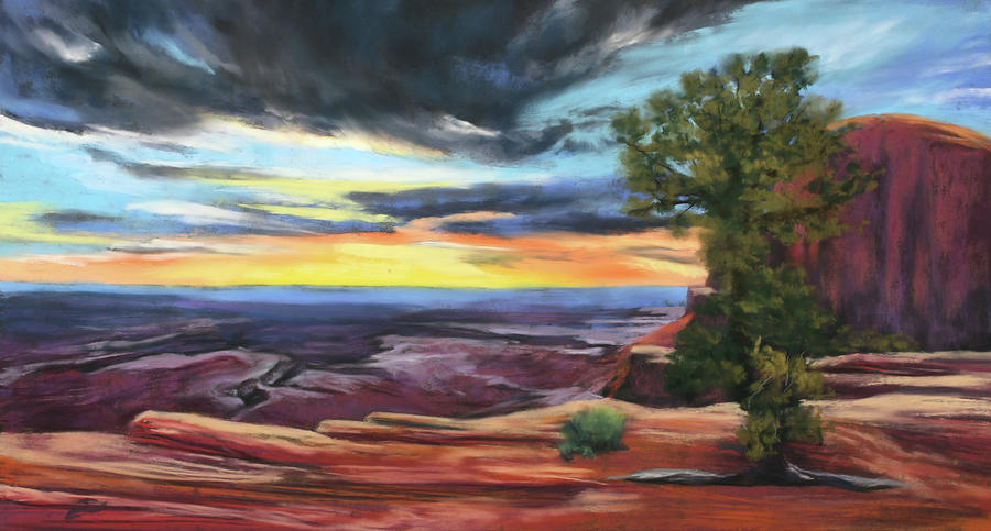 Atop Canyonlands by Sandi Snead