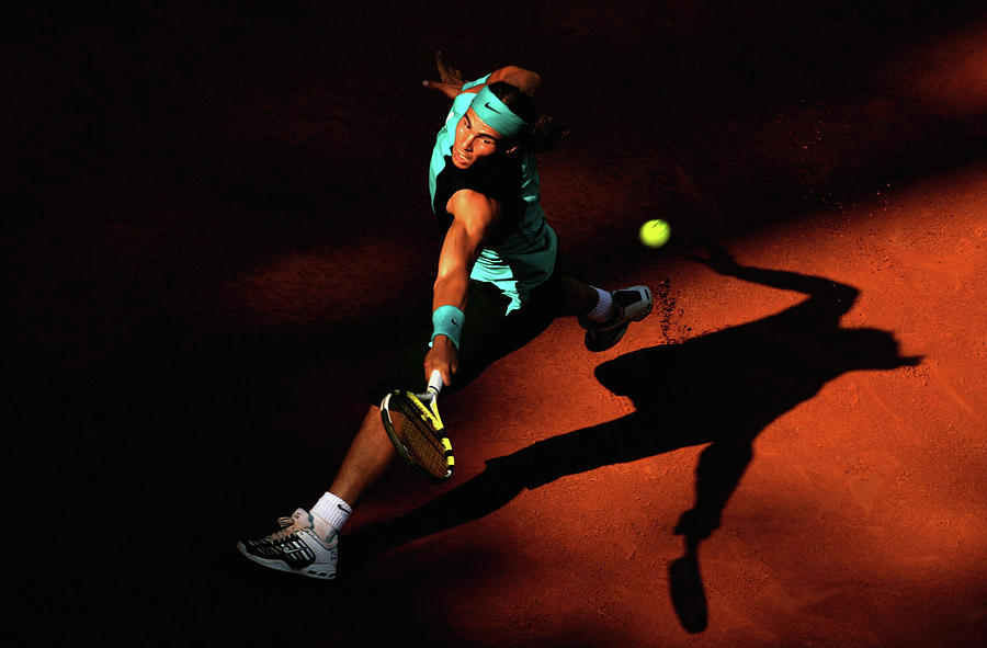 Atp Masters Series - Rome - Day Five Photograph by Clive Brunskill