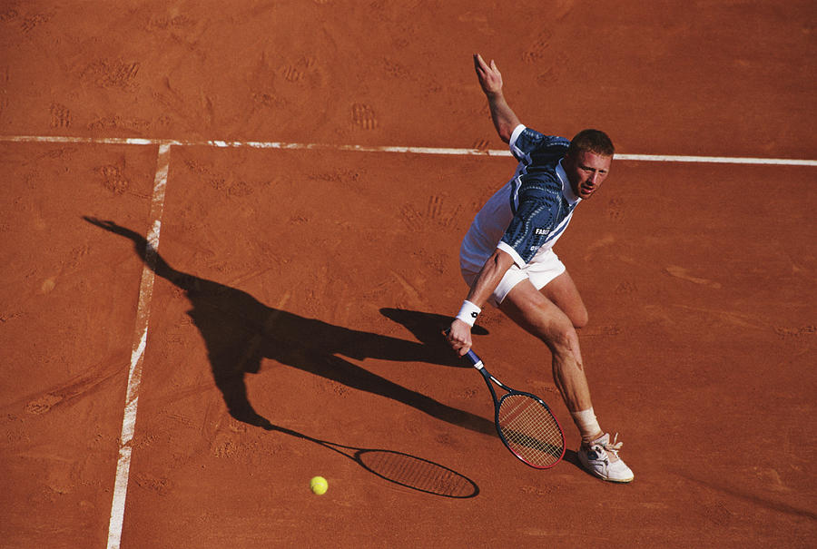 Atp Monte Carlo Open Photograph by Clive Brunskill