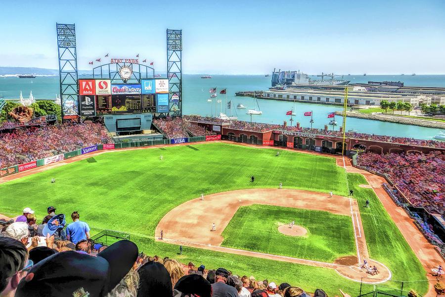b1bce9ef Att Park San Francisco Giants Baseball Ballpark Stadium by Christopher Arndt