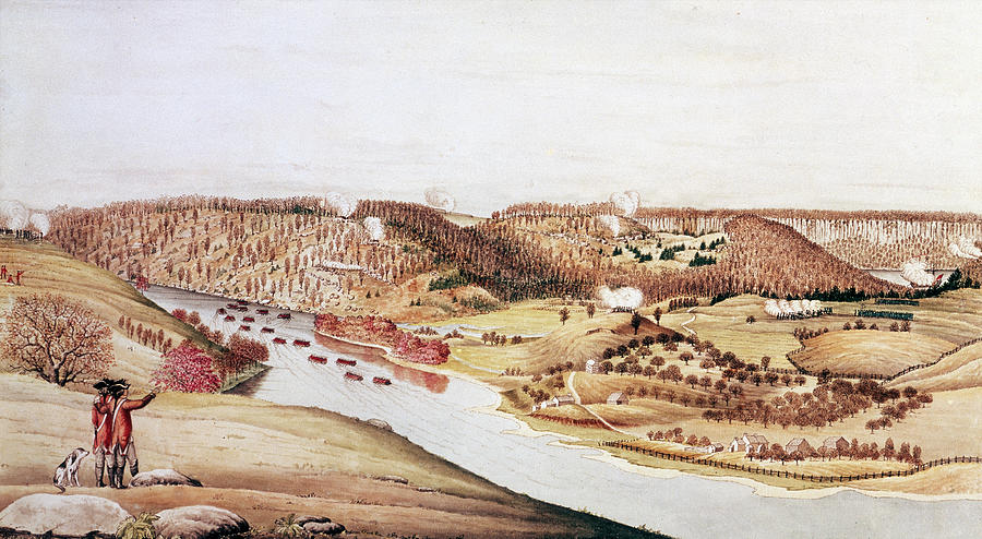 Attack On Fort Washington Photograph by Fotosearch