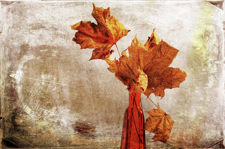 Atumn in a Vase by Randi Grace Nilsberg