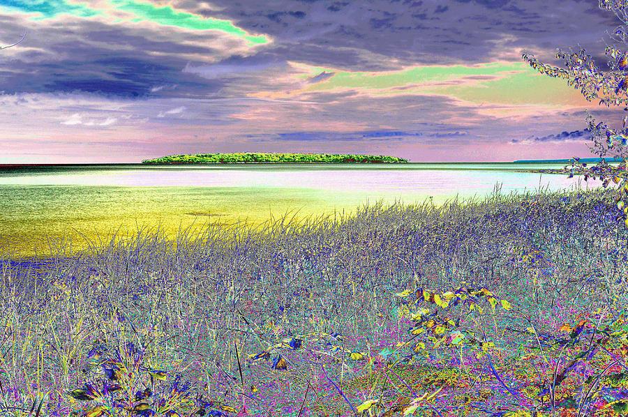 Au Train Island Lake Superior Michigan Photograph