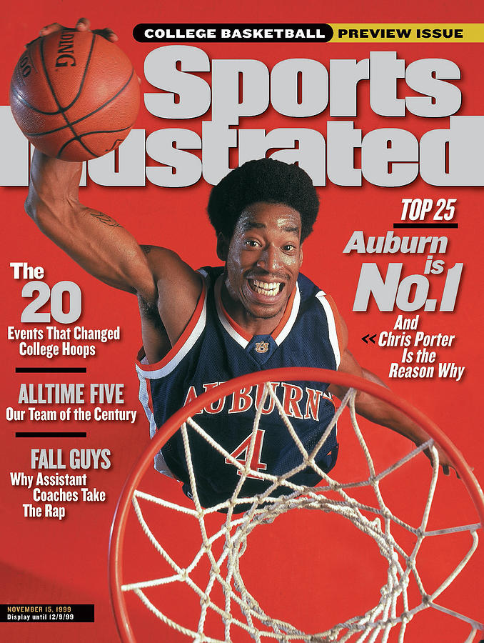 Auburn University Chris Porter, 1999-2000 College Sports Illustrated Cover Photograph by Sports Illustrated
