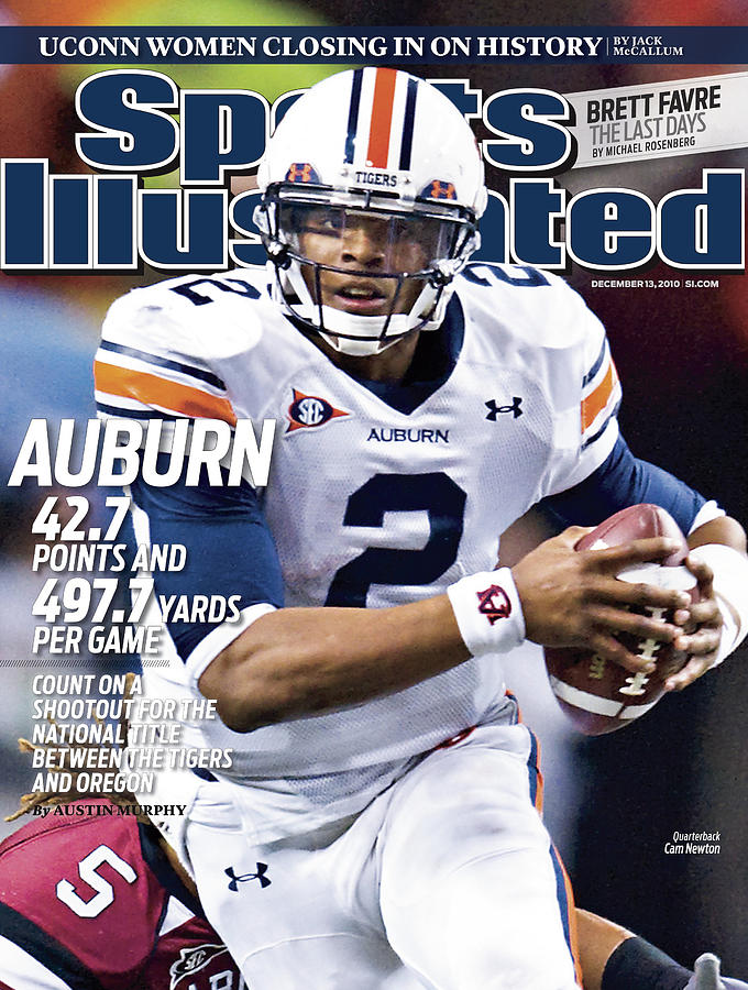 Auburn University Vs University Of South Carolina, 2010 Sec Sports Illustrated Cover Photograph by Sports Illustrated