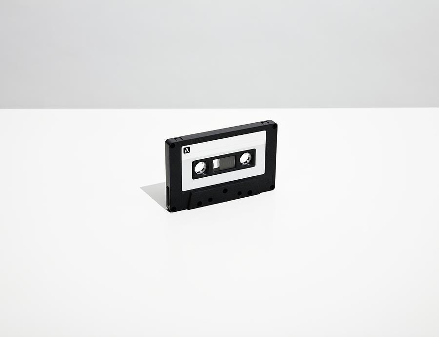 Audio Cassette Tape On Tape Photograph by Steven Errico
