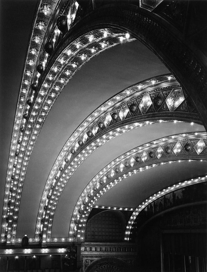 Auditorium Theater In Chicago Photograph by Chicago History Museum