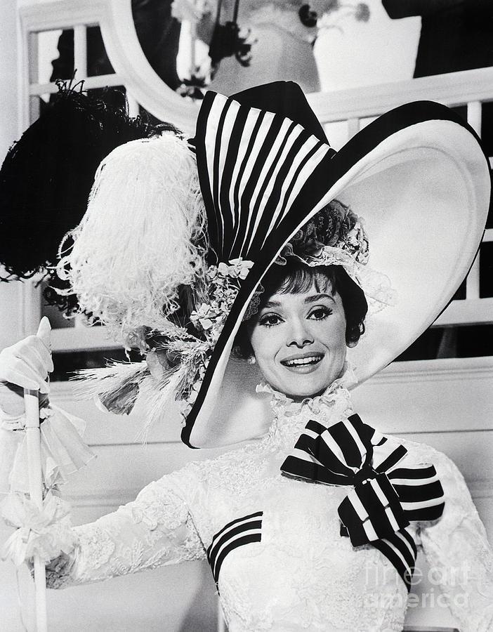Audrey Hepburn As Eliza Doolittle Photograph by Bettmann