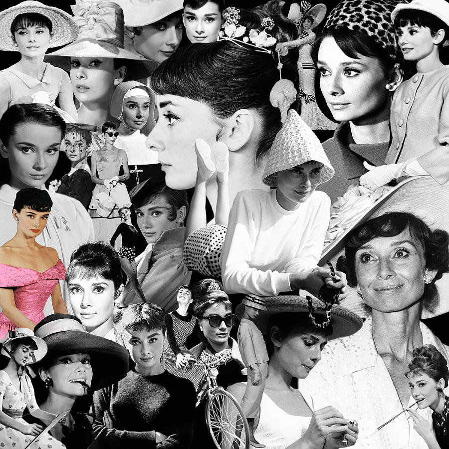 Audrey Hepburn Montage 2 by Andrew Fare