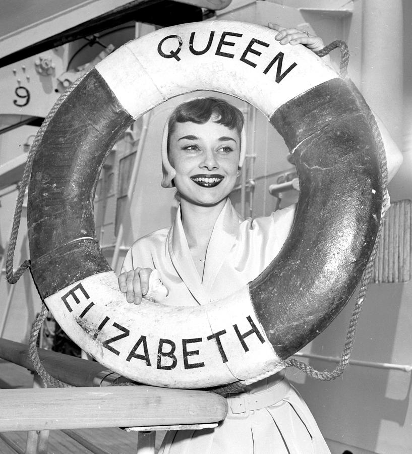Audrey Hepburn Star Of Broadway Play Photograph by New York Daily News Archive