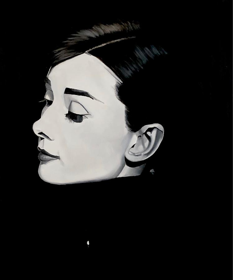 Audrey Digital Art - Audrey Two by Brian Broadway