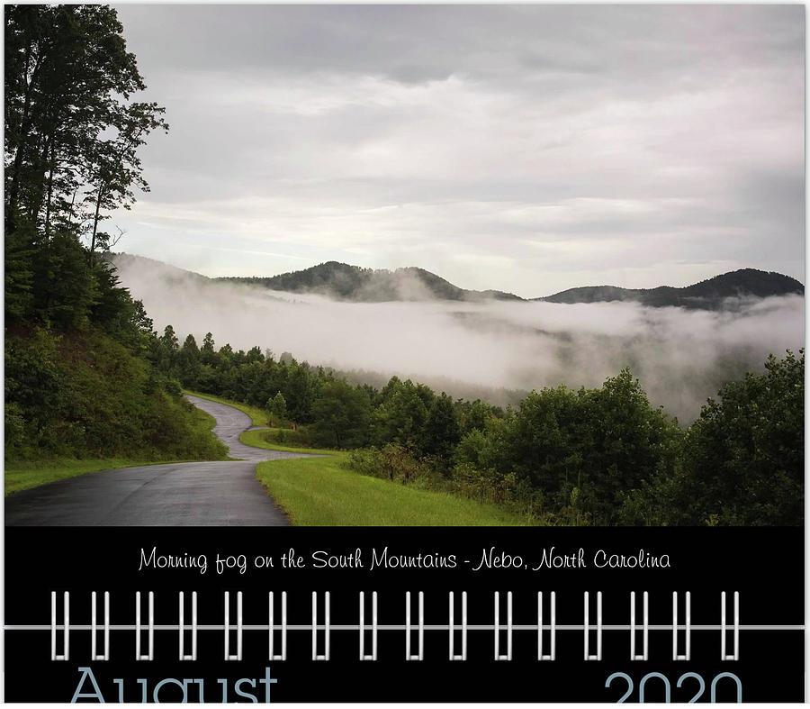 August 2020 Classic Calendar Preview by Joni Eskridge