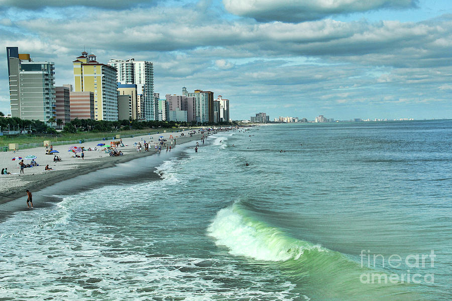 August at Myrtle Beach by Irene Dowdy