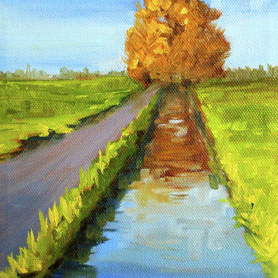 August Landscape by Nancy Merkle