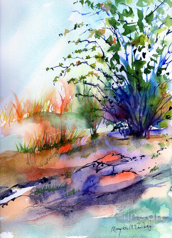 August Shrub by Mary Lou McCambridge