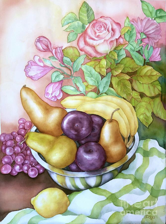 August still life by Inese Poga