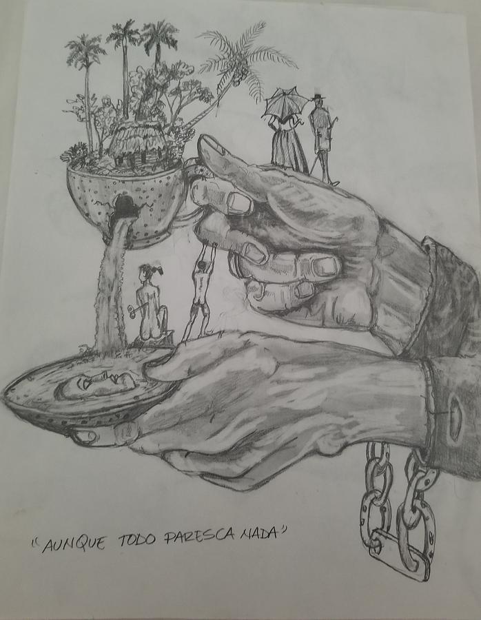 Aunque todo paresca nada by Carlos Rodriguez Yorde
