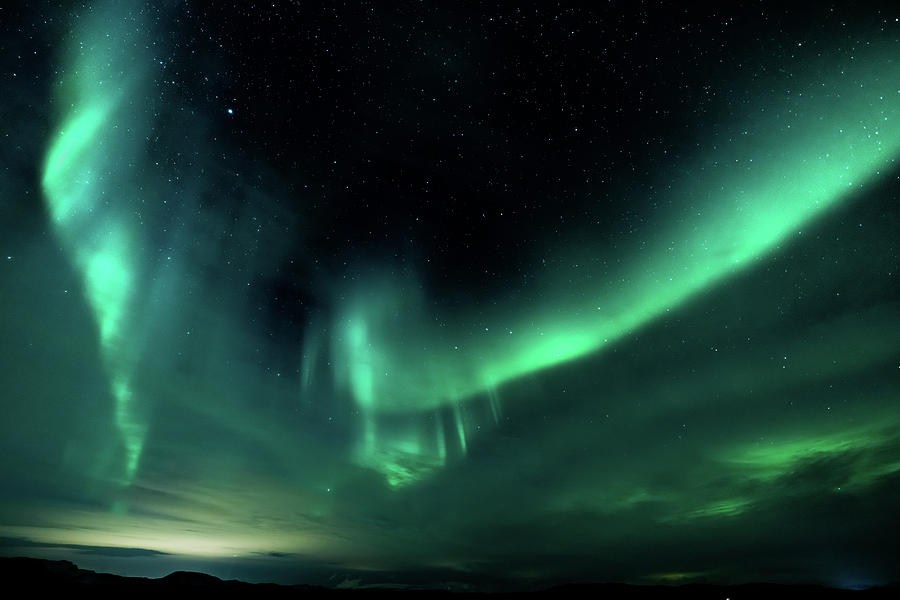 Iceland Photograph - Aurora Magnifica by Framing Places