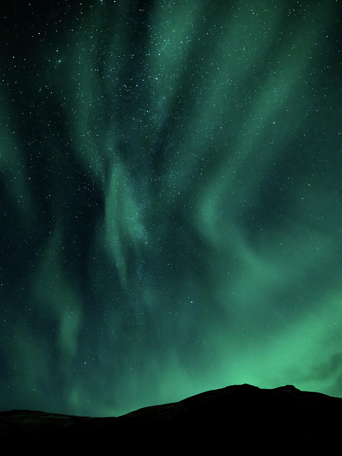 Iceland Photograph - Aurora Portrait by Framing Places