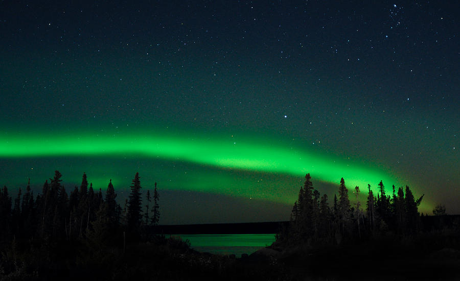 Aurora, Quebec 1 by Carl Young