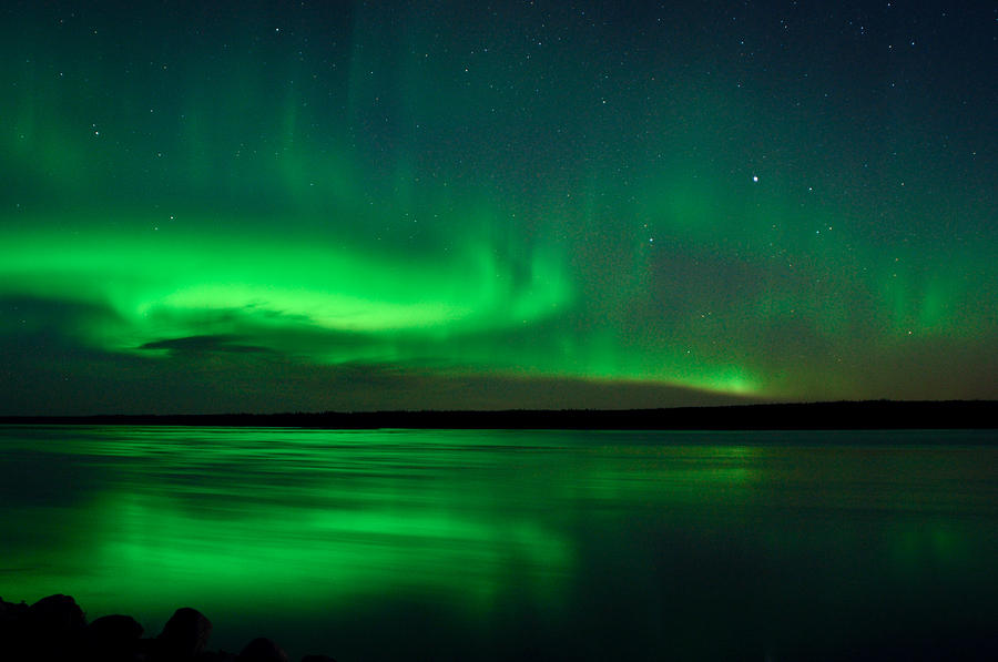 Aurora, Quebec 10 by Carl Young