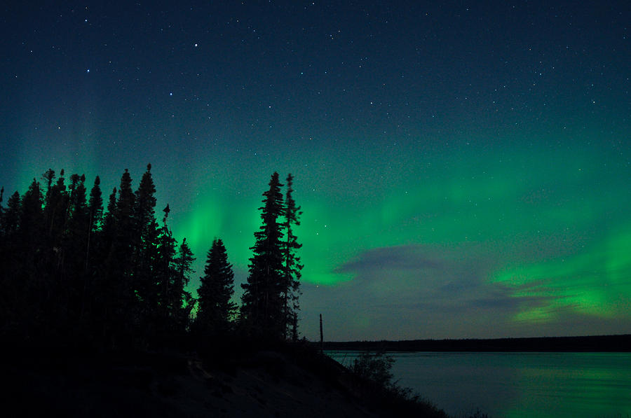 Aurora, Quebec 15 by Carl Young