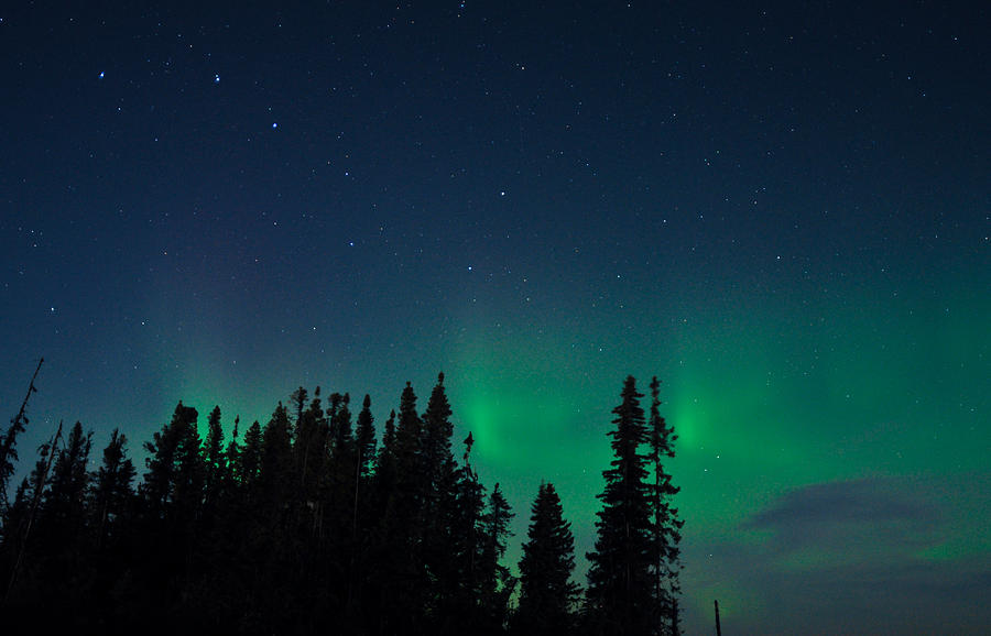 Aurora, Quebec 16 by Carl Young