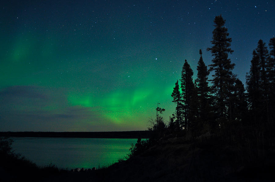 Aurora, Quebec 17 by Carl Young