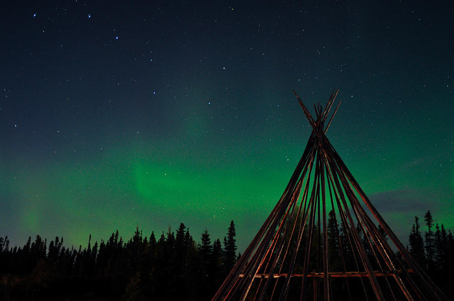 Aurora, Quebec 19 by Carl Young