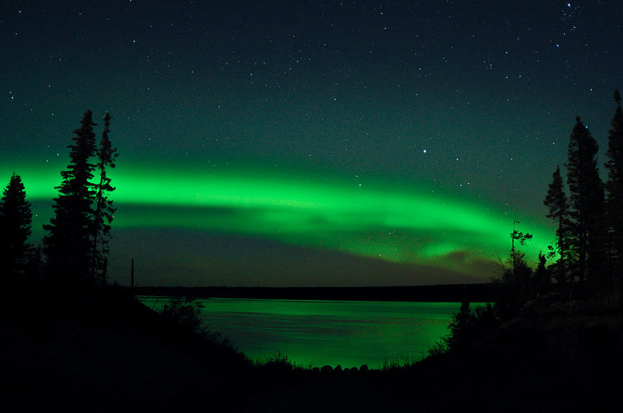 Aurora, Quebec 2 by Carl Young