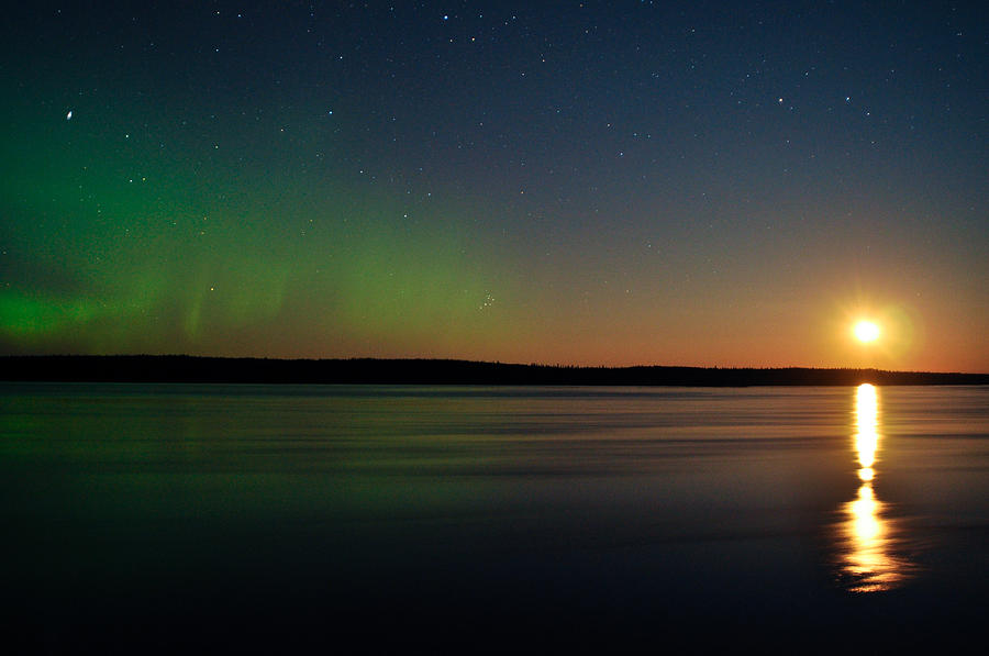 Aurora, Quebec 23 by Carl Young