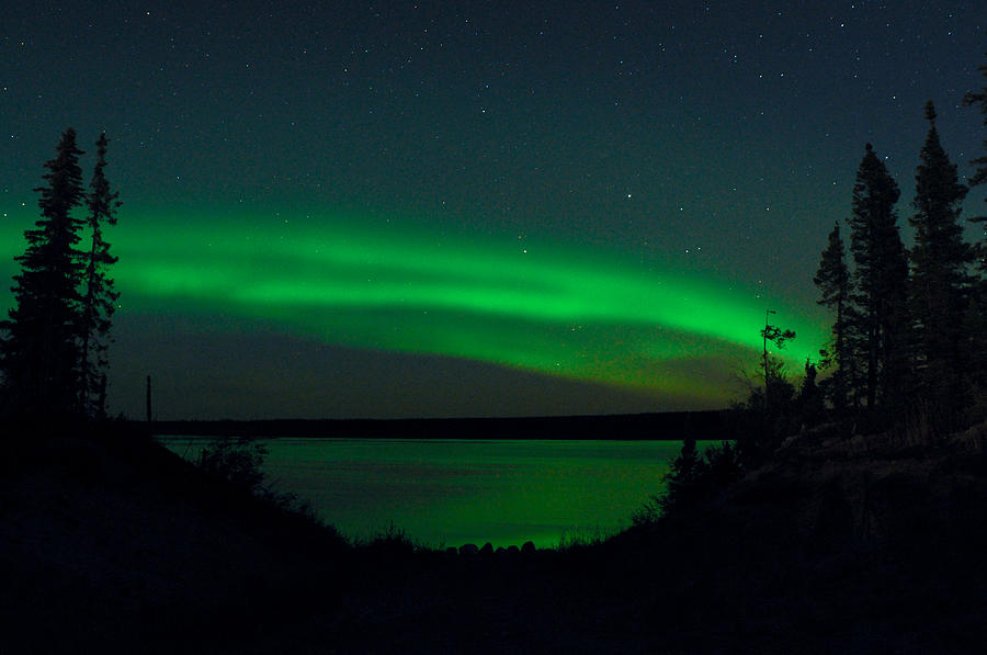 Aurora, Quebec 3 by Carl Young