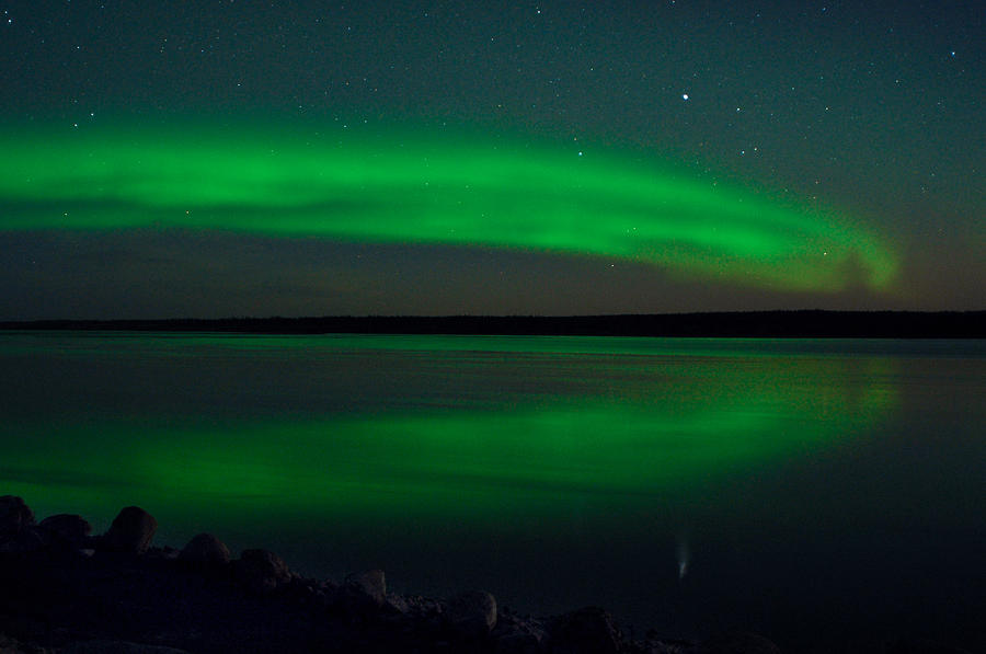 Aurora, Quebec 4 by Carl Young