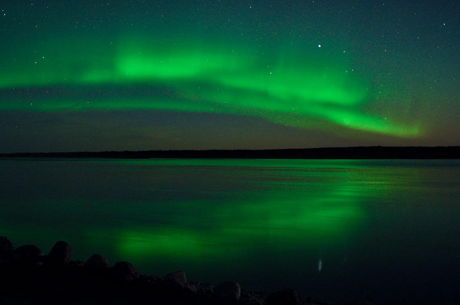 Aurora, Quebec 6 by Carl Young