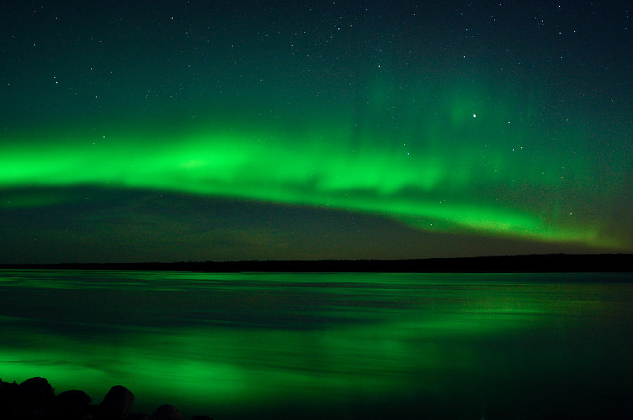 Aurora, Quebec 7 by Carl Young
