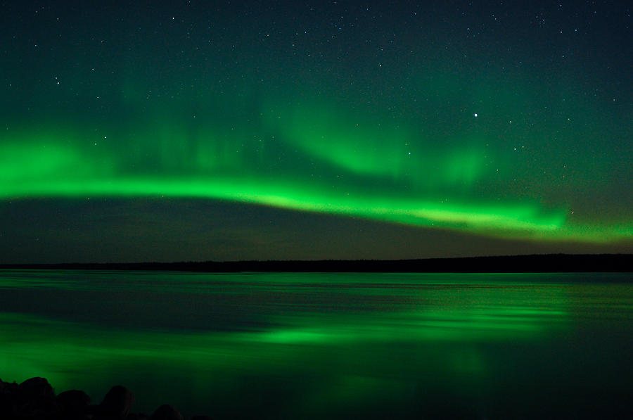 Aurora, Quebec 8 by Carl Young