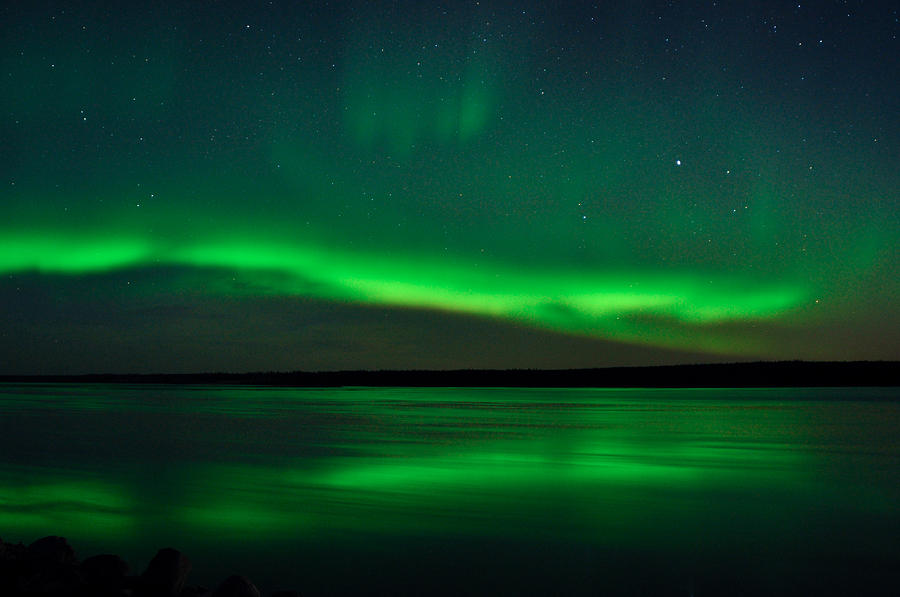 Aurora, Quebec 9 by Carl Young